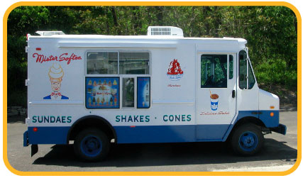 Mister Softee Ice-cream Truck Eastern Long Island